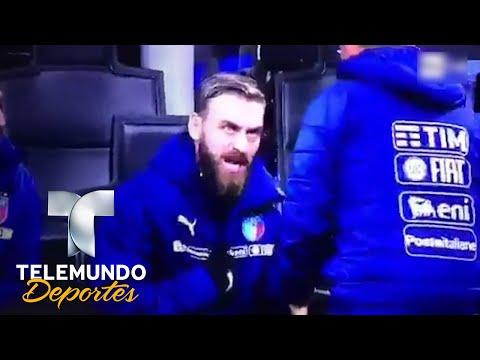 Así explotó De Rossi contra el técnico de Italia   Copa Mundial de la FIFA Rusia 2018   Telemundo