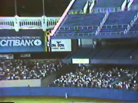 """NY Yankees Scoreboard CGI 1991"" Presented By DCT Goddess"