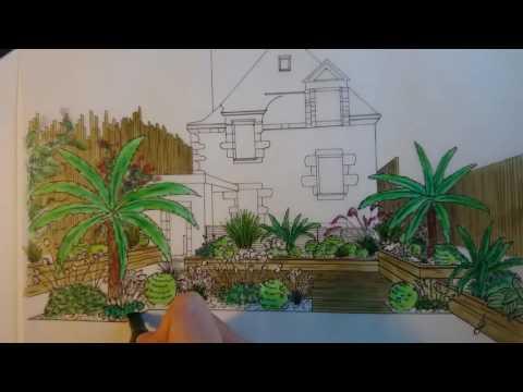 La Plume des Jardins : dessin de jardin