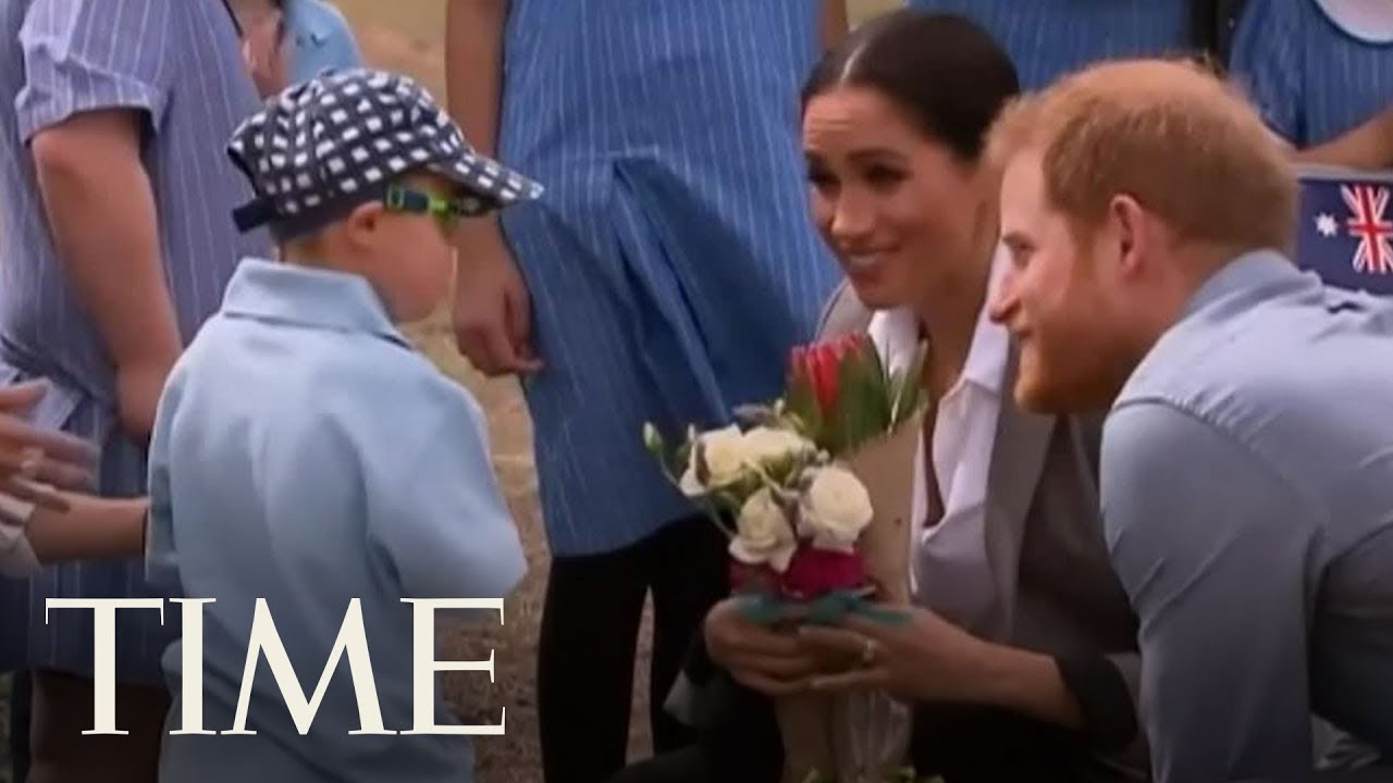 This Kid Could Not Get Enough Of Prince Harry's Beard | TIME
