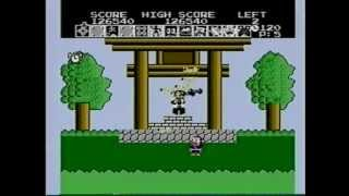 忍者ハットリくん[FC]:1986年3月5日 LEVEL4(最高レベル)のノーマルプ...