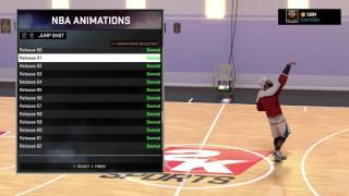 NBA 2K16 - Best Jumpshot For My Park After Patch 6 | 6'7 PG Attribute Update !