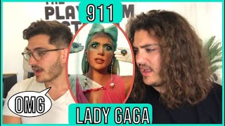 Twin Musicians REACT - Lady Gaga 911 - Official Music Video