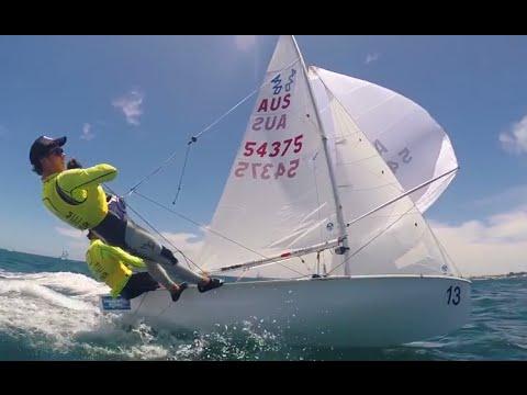 2015 international 420 class australian championships youtube