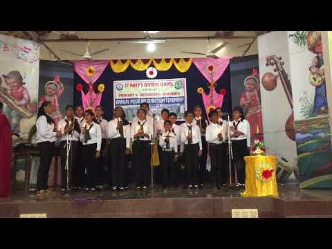 Prayer Song By St Marys Central School students, Kinnigoli