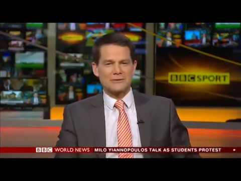 Tiger Woods drops out Sport on World Today, BBC World News