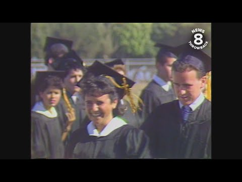 Mission Bay High School graduation 1987