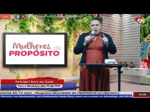 MULHERES DE PROPÓSITO (21/06/2021)