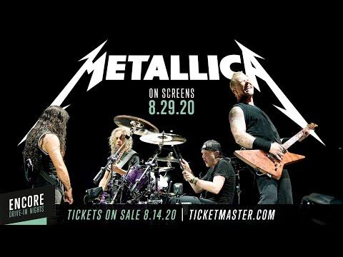 Encore Drive-In Nights Presents Metallica: On Screens August 29, 2020