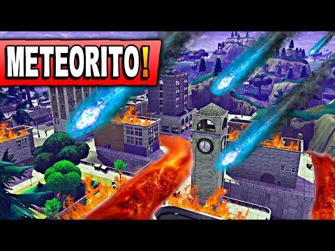 FECHA del METEORITO Y NUEVA TEMPORADA 4 *TEORÍA* Fortnite: Battle Royale