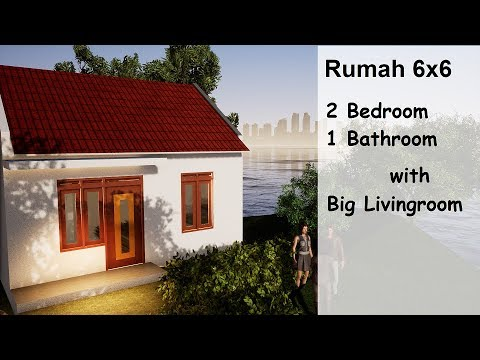 Rumah Minimalis 2 Lantai Ukuran 6x6  inspired house design