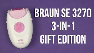 Розпакування BRAUN SE 3270 3-in-1 Gift Edition