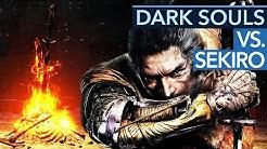Was macht Sekiro anders als Dark Souls?