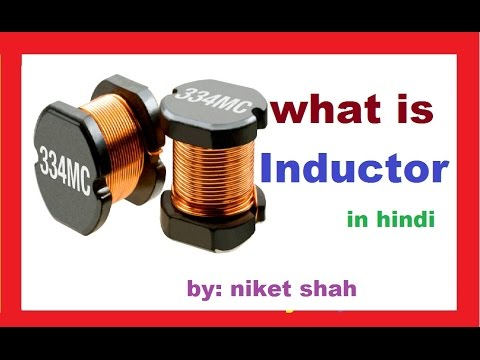 Inductor Working, Types.. in hindi