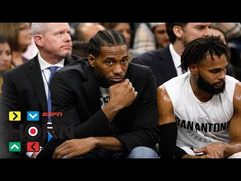 Will Kawhi Leonard be out for the season?   Around the Horn   ESPN