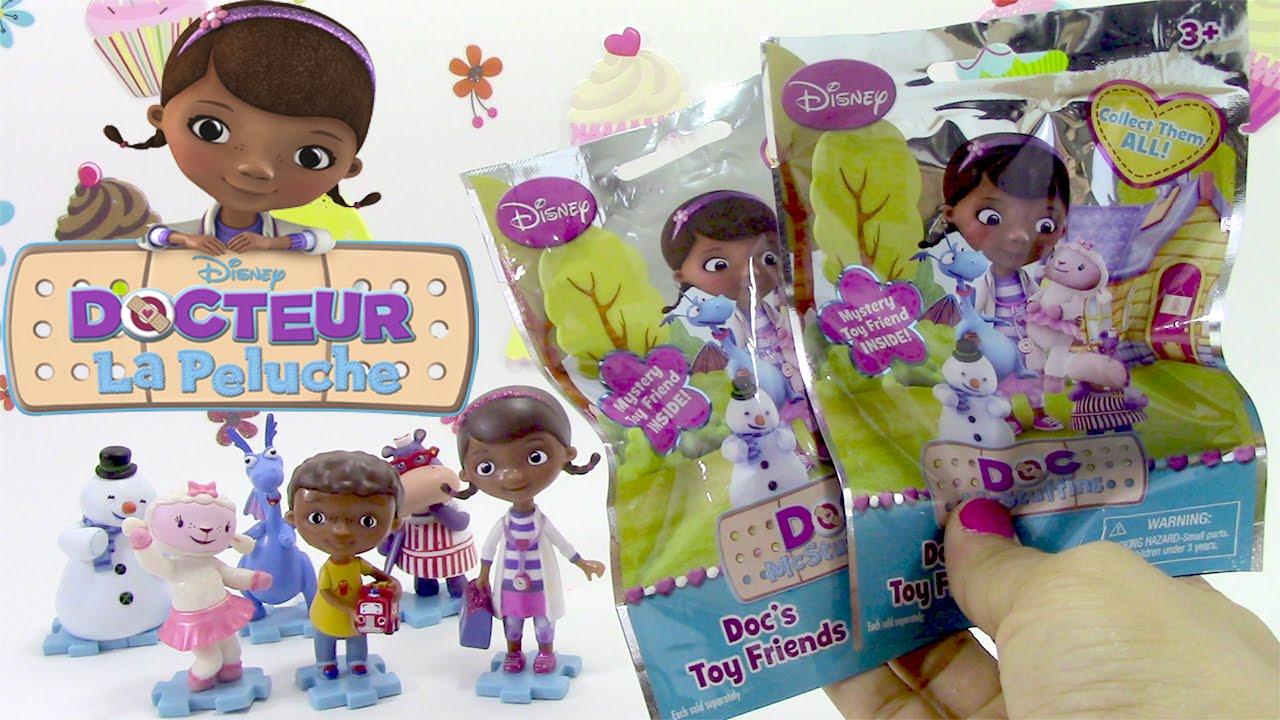 Docteur la peluche sachets surprise c line toufy jouets doc mcstuffins blind bags youtube - Toufy docteur la peluche ...