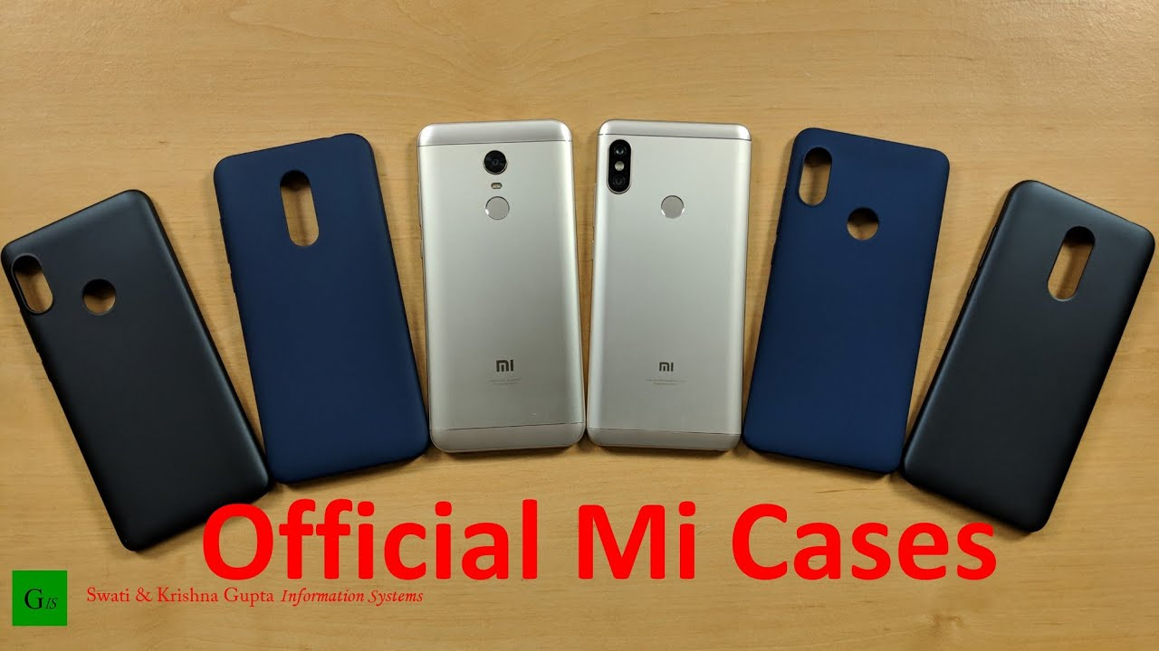 watch 90c56 4b6ca Redmi Note 5 Pro & Note 5 Official Mi Cases & Protector