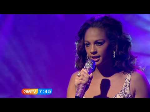 Alesha Dixon - To Love Again - GMTV - 24th Nov 09-snoop