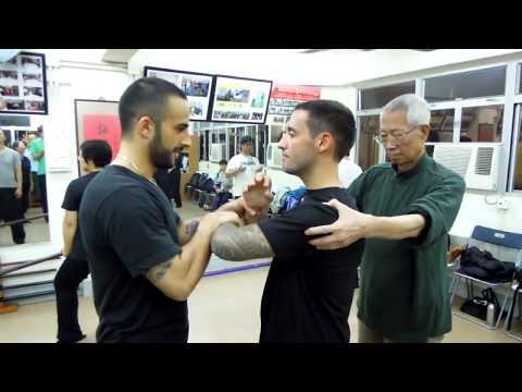 Wing Chun Shoulder joint manupilation by Chu Shong Tin