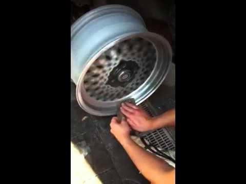 Pulido llantas casero 2 0 youtube - Pulir llantas de aluminio a espejo ...