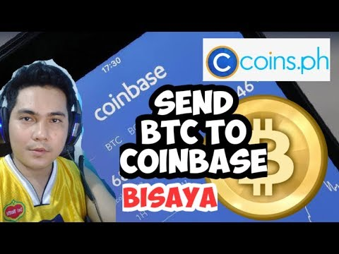 How To Send Bitcoin From Coins.PH To COINBASE (Bisaya)