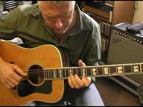 Thumbnail: Open D picking,acoustic guitar lesson by Max Milligan