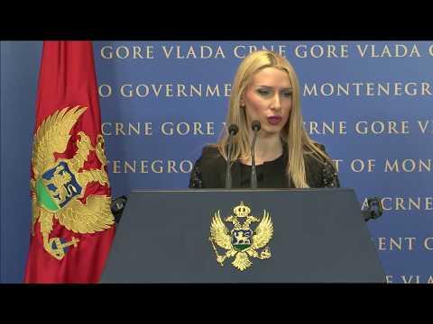 2017 10 19 Konferencija za medije nakon 45. sjednice Vlade Crne Gore