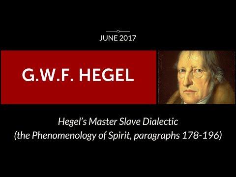 Hegel's Master-Slave Dialectic - ReasonIO Online Events in June 2017