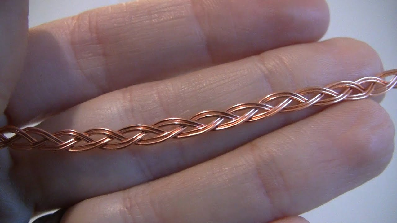 tutorial how to make a wire braid [ 1280 x 720 Pixel ]