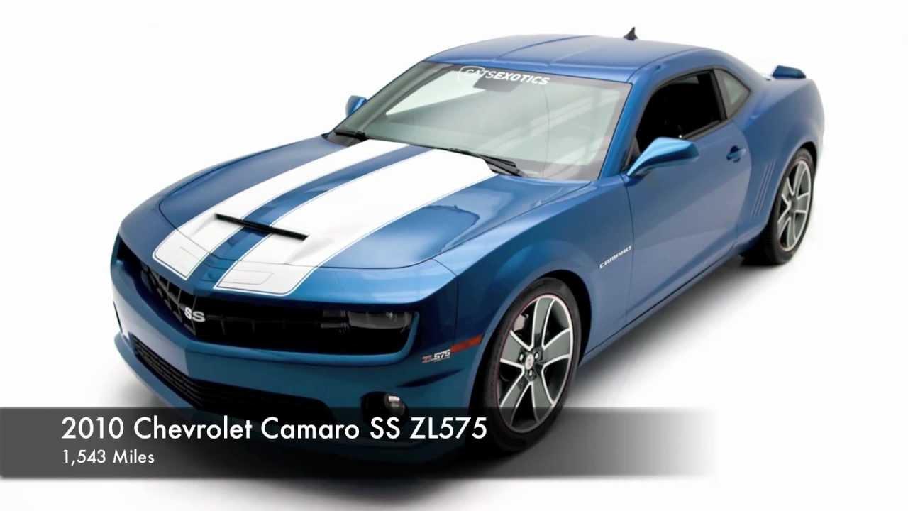 2010 Chevrolet Camaro Ss Zl575 Slp For Sale Youtube