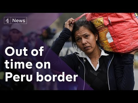 Thousands flee Venezuela for Peru before tougher travel restrictions take force