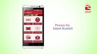 How to know your Janam Kundali from Sathi TV Apps