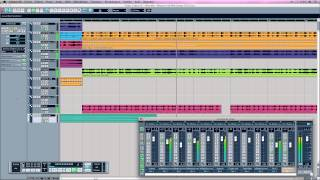 View Mix - Megamix By Willy Deejay Cubase SX 1 Mac OSX (HD) Steinberg