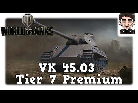 World of Tanks - VK 45.03, neuer deutscher Tier 7 Premium [deutsch | News]