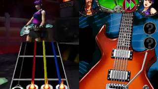Guitar Hero On Tour: Modern Hits (NDS Gameplay)