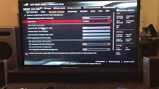 intel 5960x Overclock Settings on the Asus Rampage V Edition 10
