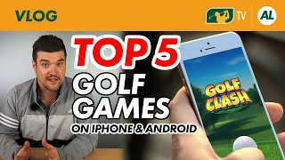 THE BEST FREE GOLF APPS ON IPHONE & ANDROID (GAMES)
