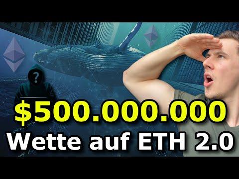 ETHEREUM 2.0 MIT RIESIGEN ZUFLÜSSEN ! $ 500.000.000 WHALE ALERT ! #BITCOIN ADIEU ? ETHEREUM UPDATE