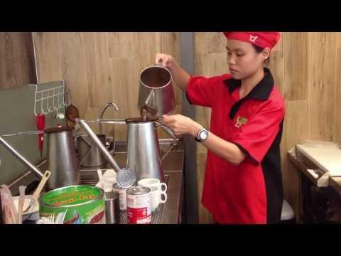 "Singapore ""Pulled"" Coffee (kopi tarik) | JEM Mall"