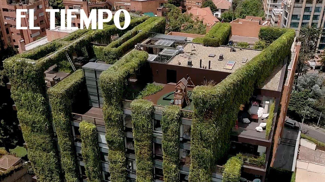 Top 5 fachadas m s bonitas de bogot 1 edificio santalaya for Las mejores fachadas de las villas