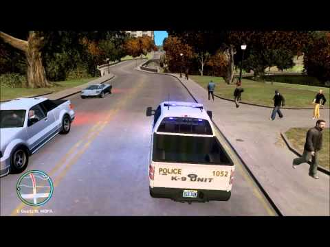 GTA IV - LCPDFR - On Patrol with the Chattanooga Police(Pt. 2) K-9 Unit