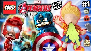 Duddy plays LEGO Marvel Avengers #1 w/ Amiibo Lukas Pukas + CHEAT CODE (FGTEEV 2016 Gameplay & Haul)
