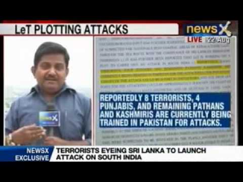 News X: Terrorists eyeing Sri Lanka to launch attack on South India