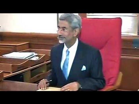 S Jaishankar, former envoy to US, takes charge as the new foreign secretary