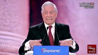 Mario Vargas Llosa - Intervención Convención Nacional del PP - 19-01-19