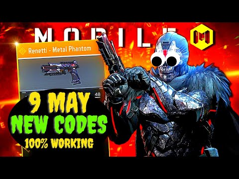 *TODAY* CALL OF DUTY MOBILE REDEEM CODES 2021 - CODM CODES - CALL OF DUTY CODES 2021 (8 MAY CODES )