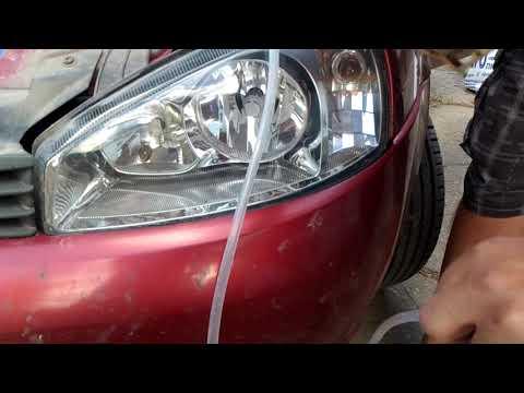 видео: Как достать упавший внутрь фары светодиод на калине (лайфхак).