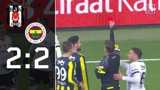 Ricardo Quaresma sieht Rot: Besiktas - Fenerbahce 2:2 | Highlights | Türkischer Pokal | DAZN