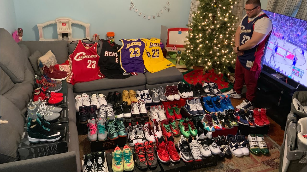 Nike LeBron Collection 1-16 - YouTube