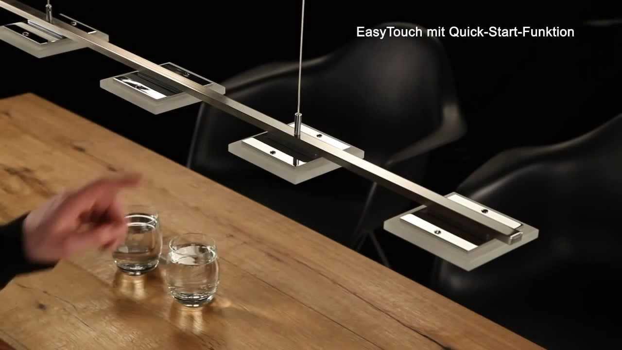 bankamp led pendelleuchte easy touch made in germany youtube. Black Bedroom Furniture Sets. Home Design Ideas